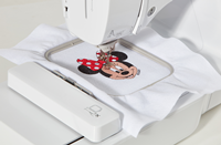 Click to Enlarge - M280D: Embroidery Area