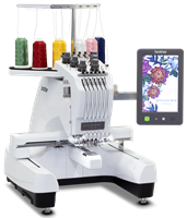 Click to Enlarge - Brother PR680W 6-Needle Embroidery Machine