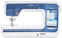 Click to Enlarge - Brother Innov-is V5LE Sewing, Quilting and Embroidery Machine