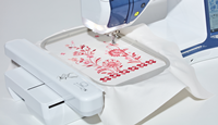 Click to Enlarge - V5LE: Embroidery Area