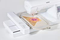 Click to Enlarge - NV880E: Embroidery Area