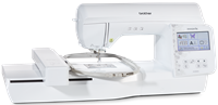 Click to Enlarge - Brother Innov-is NV880E Embroidery Machine