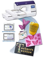 Click to Enlarge - Brother Single Needle Embroidery Machines