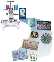 Click to Enlarge - Brother Multi-Needle Embroidery Machines
