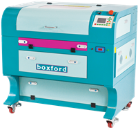 Click to Enlarge - BGL350 Water Cooled Laser Cutter