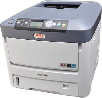 A4 TMT ProC7411WT White Printer