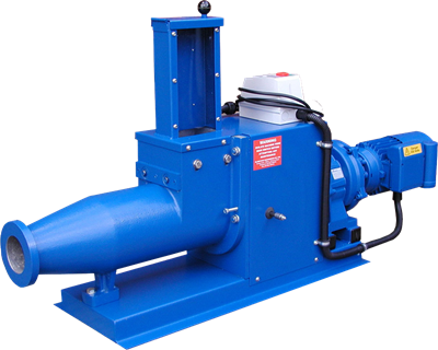 Power Feed Horizontal Pugmill