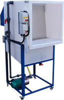 Click to Enlarge - Wetback Spraybooth with Stand