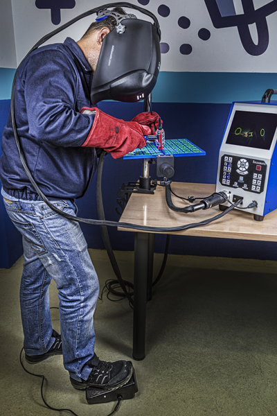 Advanced Package with Optional TIG Pedal and Workstand