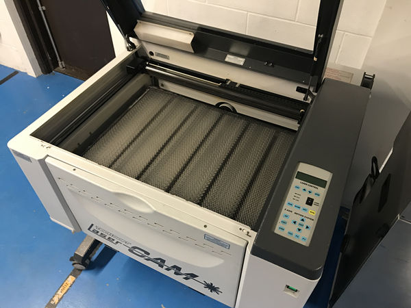 Refurbished LaserCAM A2+ 30W Laser Cutter with Extractor