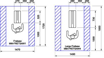 Fretsaws CAD Drawings