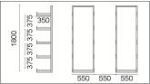 Horizontal Storage Racks Drawing