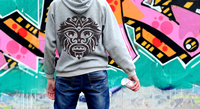 Click to Enlarge - Roland CAMM 1 GR2-Series Application: Glitter flock hoodie