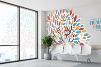 Click to Enlarge - Roland CAMM 1 GR2-Series Application: Window and wall graphics