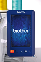Click to Enlarge - Brother VR: Colour LCD Touch Screen