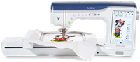 Click to Enlarge - Brother Innov-is Stellaire XJ1 Sewing, Quilting and Embroidery Machine