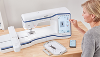 Click to Enlarge - Brother Innov-is Stellaire XE1 Embroidery Machine