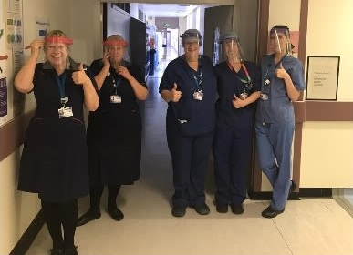 PPE Visors for Medical Workers