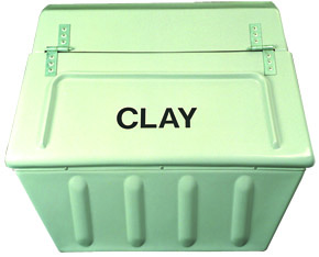 Fibre Glass Clay Storage Bin
