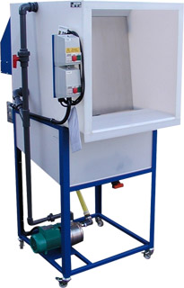 Wetback Spraybooth with Stand
