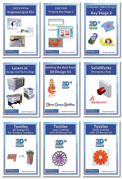 Training Course Booklets with Drawing Files