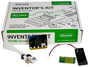 BBC micro:bit with Inventor's Kit & Accessories