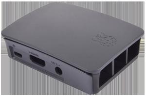 Official Black Raspberry Pi 3 Case