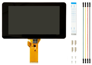 "LCD (Official Raspberry Pi 7"" Touchscreen Display)"