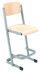 Alpha Stac Tek Stool with Backrest