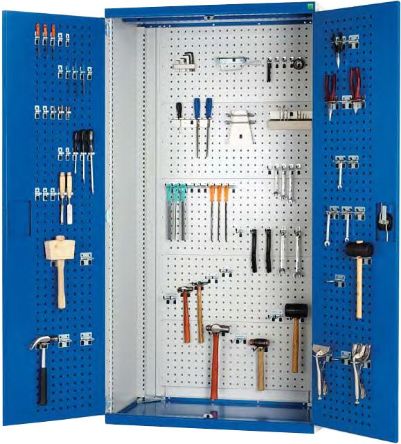 Bott Tool Cupboard with Perfo Interior  sc 1 st  TechSoft & TechSoft Steel Storage Cupboards u0026 Shelving Systems
