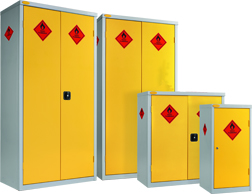 TechSoft Hazardous Storage Cupboards