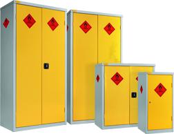 TechSoft Hazardous Storage Cupboards