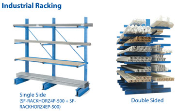 Horizontal Storage Racks 2