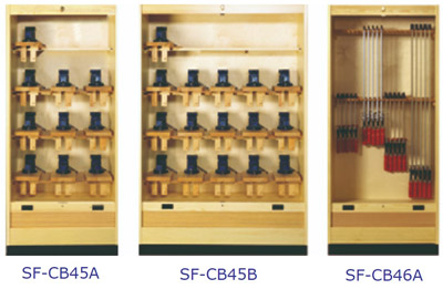 Lervad Cabinets for Vices and Clamps