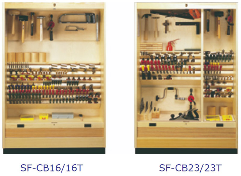 Lervad Tool Cabinet - Fitted Interior 2