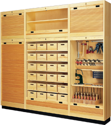 Lervad Roller Shutter Cabinet