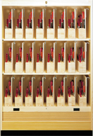 Lervad Tool Rack Cabinet