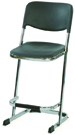 Nortek Super Stool with Backrest