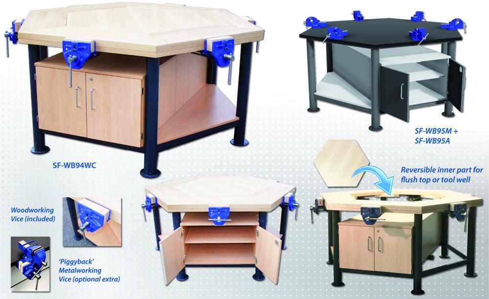 Premium Quality Hexagonal Workbench
