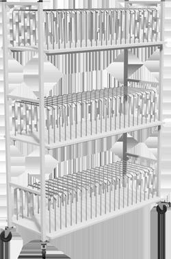 Folder Storage Rack