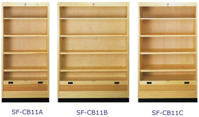Roller Shutter Cabinet with Shelves