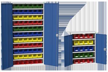 Bott Standard Duty Cupboard with Bins