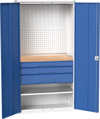 Bott Tool Cupboard with Combination Interior