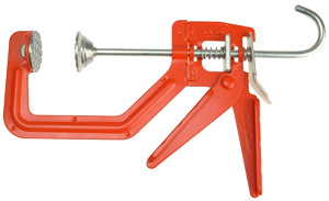 """Solo One Handed Metal G Clamp, 6"""""""