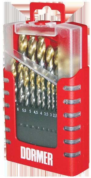 Dormer TiN 19pc A002 Drill Set