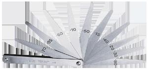 Set of 20 Metric Feeler Gauges