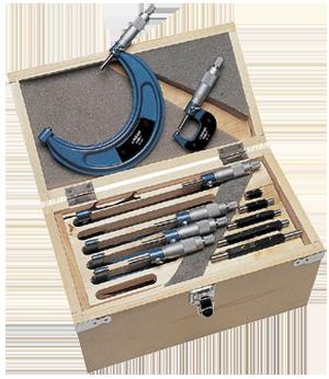 0-150mm Outside Micrometer Set