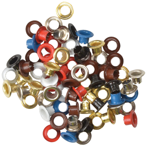 Coloured Eyelets 6000 5/32 Pack of 100