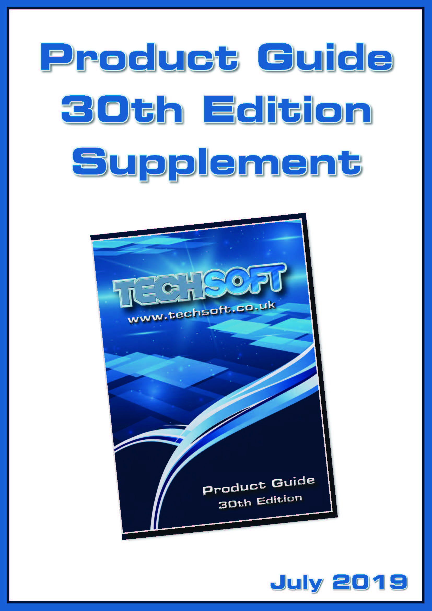 TechSoft Product Guide Supplement