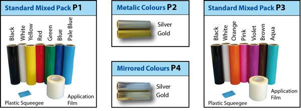 Vinyl Materials Packs
